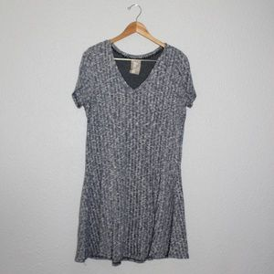 Anthropologie Dresses - Anthro Dolan Left Coast Heathered Mini Dress sz Lg
